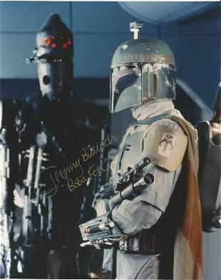 Star Wars Jeremy Bulloch signed 10x8 colour photo