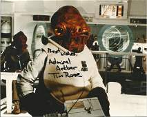 Star Wars Tim Rose signed 10x8 colour photo pictured as