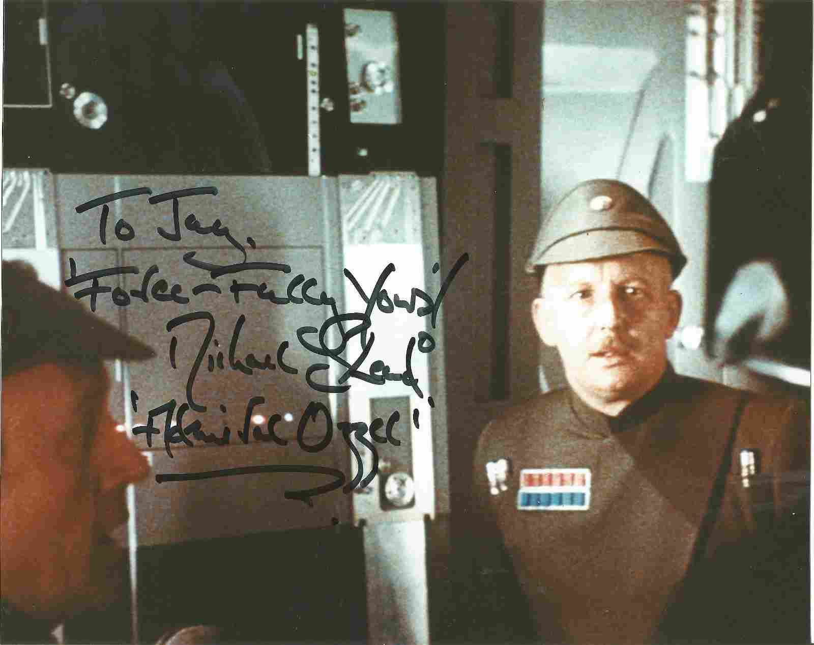 Star Wars Michael Sheard signed 10x8 colour photo