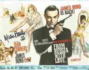 Martin Beswick signed 10 x 8 inch colour James Bond