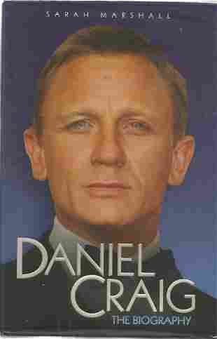 James Bond Daniel Craig hardback book titled The