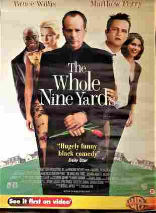 The Whole nine yards 2000 movie poster starring Bruce