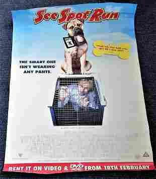 See Spot Run 2001 movie poster starring David Arquette