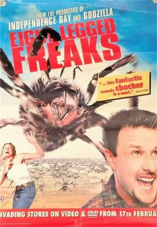 Eight Legged Freaks 2002 Movie poster starring David
