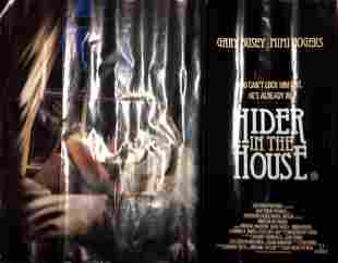 Hider in the House 30x40 movie poster from the 1989