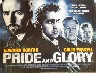 Pride and Glory 40x30 movie poster from 2008 crime