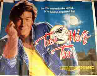 Teen Wolf Too 30x40 approx rolled movie poster from the