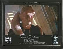 Star Wars Michael Carter signed 10x8 colour photo