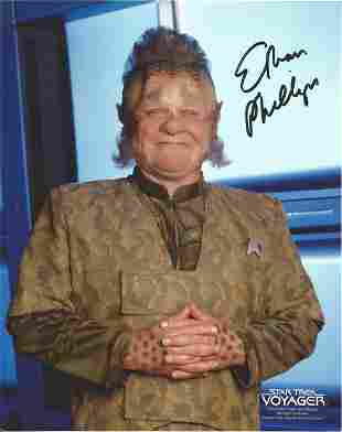 Star Trek Ethan Philips signed 10x8 colour photo