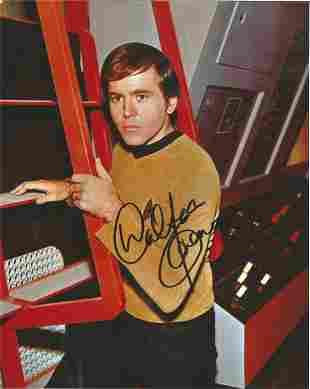 Star Trek Walter Koenig signed 10x8 colour photo