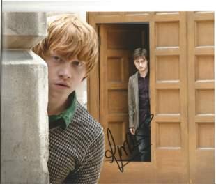 Rupert Grint signed 10x8 Harry Potter colour photo.