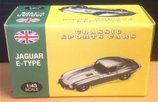 Atlas 1. 43 scale die cast model Jaguar E Type in