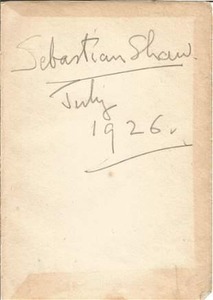 Sebastian Shaw ultra-rare Star Wars autograph. Signed