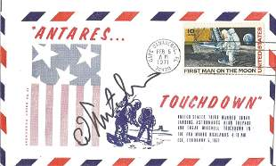 Apollo 14 Astronaut Edgar Mitchell Signed 1971 Antares
