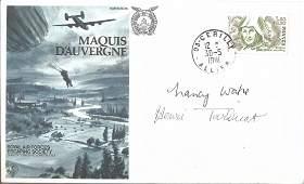 WW2 SOE Agents Nancy Wake 'The White Mouse' & Henri