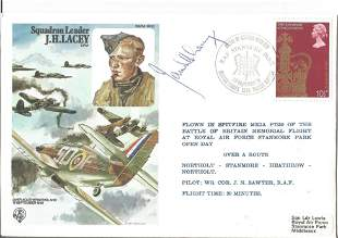 WW2 Top Battle of Britain ace Sqn Ldr James Ginger