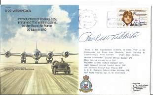WW2 Brig Paul Tibbets signed B29 Washington bomber