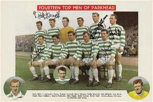 Autographed Celtic 1967, A Centre-Spread Pull Out