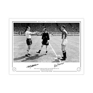 Autographed 1958 Fa Cup Final Limited Edition Print,
