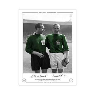 Autographed 1956 Fa Cup Final Limited Edition Print,