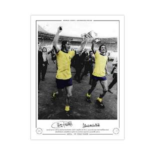 Autographed 1971 Fa Cup Final Limited Edition Print,