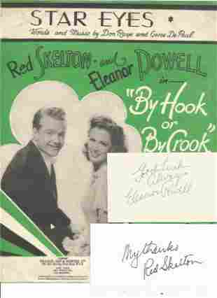 Eleanor Powell (1912-1982) & Red Skelton (1913-1997)