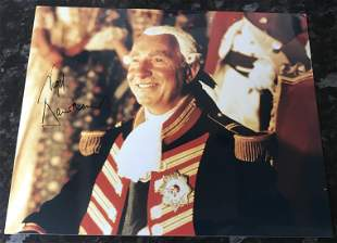 Nigel Hawthorn Madness King George signed 10 x 8 inch