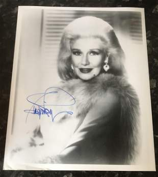 Ginger Rogers signed 10 x 8 inch b/w photo. Condition