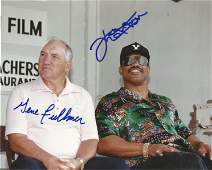 Boxing Ken Norton and Gene Fullmer signed 10x8 colour