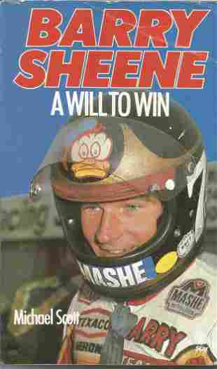 Motor Cycling Barry Sheene signed Softback Book titled