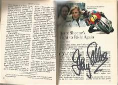 Barry Sheene Rare Collection Fantastic Item Includes