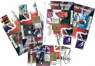 Great Britain medal heroes FDC signed collection, 5