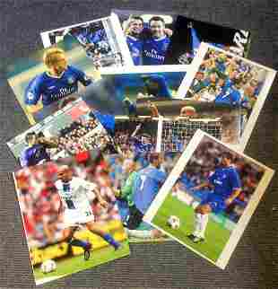 Football Chelsea collection 15 unsigned assorted colour