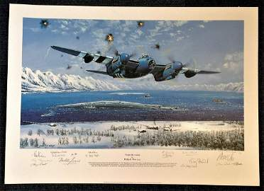 Philip E West Tirpitz Re Visited Artists Proof signed