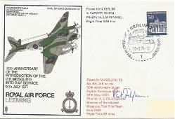 W. P. I. Fillingham signed RAF Leeming 30th Anniversary