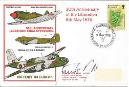 Major Gunther Rall signed Victory in Europe 30th