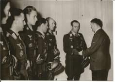 Luftwaffe ace Werner Schroer unsigned 6 x 4 b/w photo.