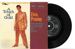 RARE An Elvis Presley A Touch of Gold vinyl record