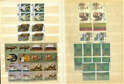 Australia stamp collection 10 pages housed in a small