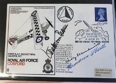 WW2 Hans Rossbach complete collection of 80 Luftwaffe