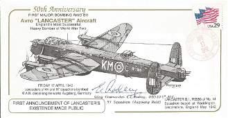 WW2 Wg Cdr E E Rodley DSO DFC pilot 97 Sqn Lancaster