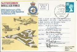 Flt Lt C. R. Alkins RAF, Flt Lt D. J. Daulby RAF, Flt