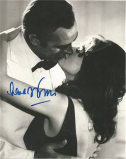 Lana Wood signed 10x8 black and white photo pictured in