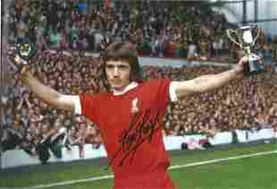Football Kevin Keegan signed 12x8 colour photo pictured