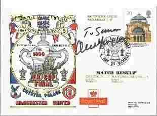 Football Sir Alex Ferguson signed 1990 FA Cup Final