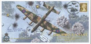 Dambuster Les Munro signed FDC The Eagles Nest The