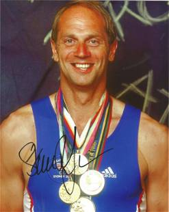 Olympic Games Sir Steve Redgrave signed 10x8 colour