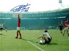 Football Sir Geoff Hurst signed 16x12 1966 World Cup