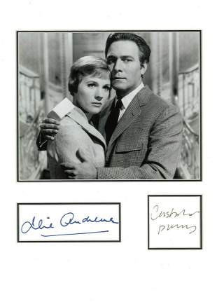 Julie Andrews and Christopher Plummer 16x12 approx
