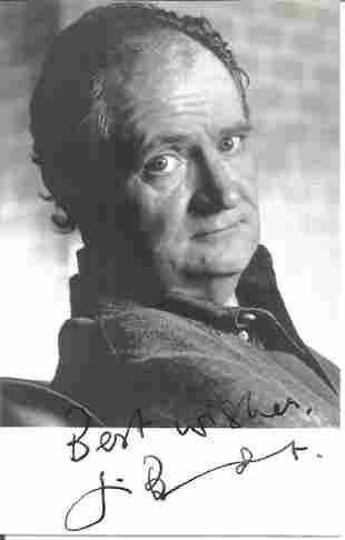 Jim Broadbent signed 5 x 4 b/w photo in very good